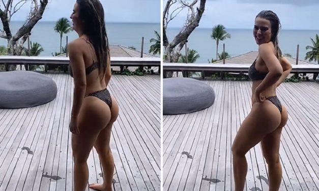 Fernanda Keulla curte temporada de férias na Bahia