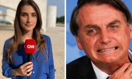 Repórter da CNN Brasil relata violência de seguranças de Bolsonaro e momentos de tensão