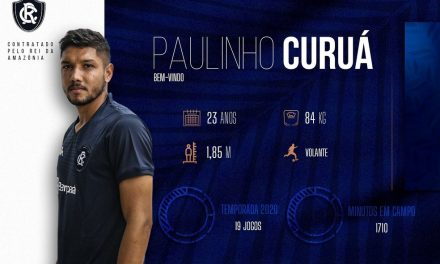 Remo anuncia Paulinho Curuá por empréstimo junto ao Tapajós