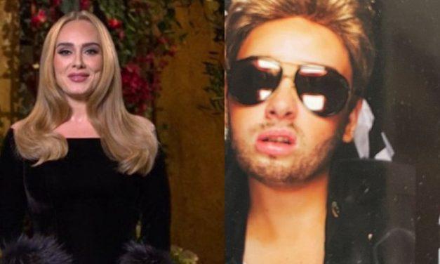 Adele se transforma em George Michael em foto compartilhada por amiga