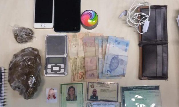 Casal de Tailândia é preso por tráfico de drogas em Ananindeua