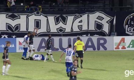 "Fernandes fratura tornozelo após falta dura de Wellington Silva: ""falou que foi lance normal"""