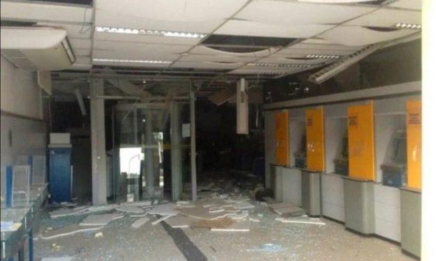 Grupos armados explodem 3 agências bancárias em Correntina, oeste da Bahia