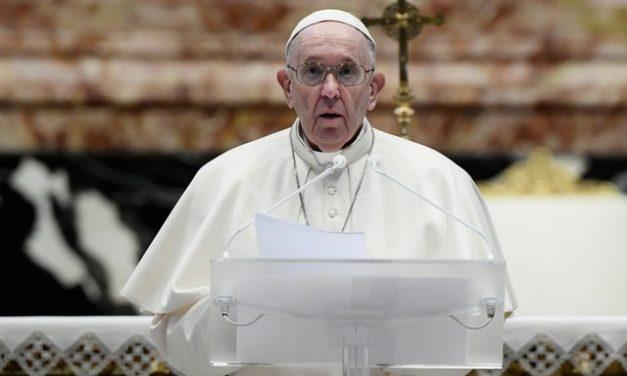 Papa defende suspensão temporária de patentes de vacina contra Covid