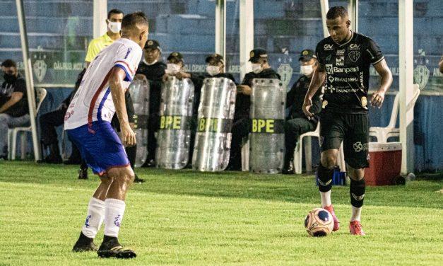 """Robinho fala de rotatividade no time titular do Paysandu e cita """"dificuldade"""" contra o Castanhal"""