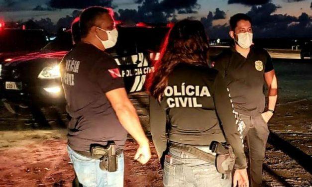 Polícia Civil prende homem acusado por homicídio qualificado em Soure