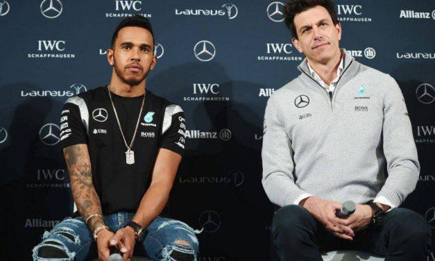 "Wolff exalta Hamilton: ""Nunca vi ninguém atuar neste nível"""