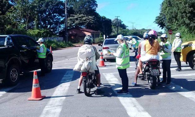 Detran promove ação educativa sobre limites de velocidade em Castanhal