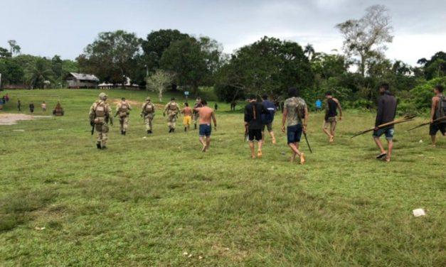 Garimpeiros atiram contra Polícia Federal em região de conflito da Terra Yanomami