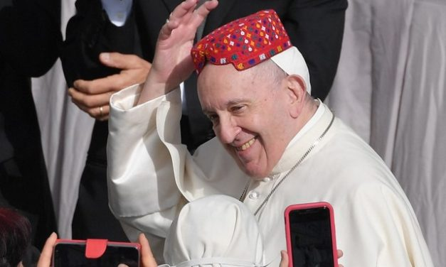 Papa comemora volta de audiências com fiéis