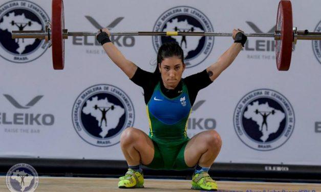 Principal brasileira do levantamento de peso cai no doping e perde Tóquio