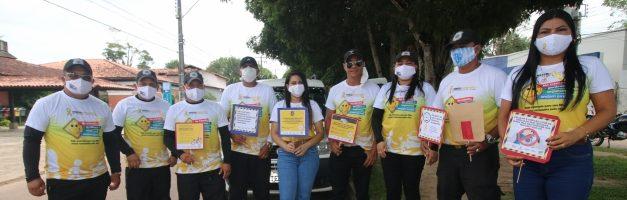 Maio Amarelo: prefeitura realiza blitz educativa na Vila dos Cabanos