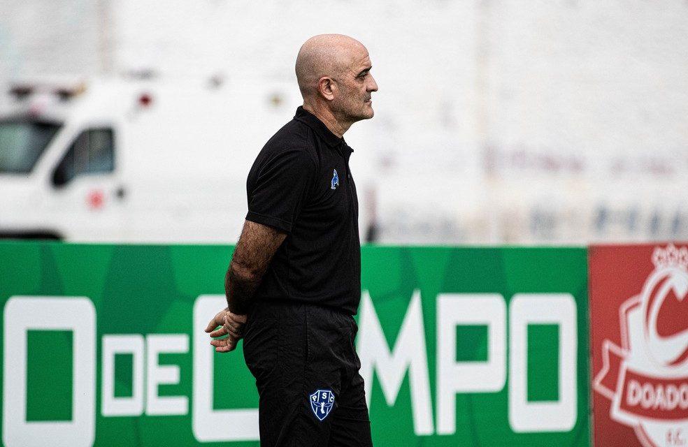 Após derrota no jogo de ida da final do Parazão, Paysandu demite técnico Itamar Schülle