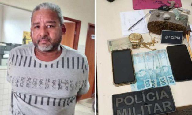 PM prende homem que trazia drogas em táxi de Abaetetuba para Moju