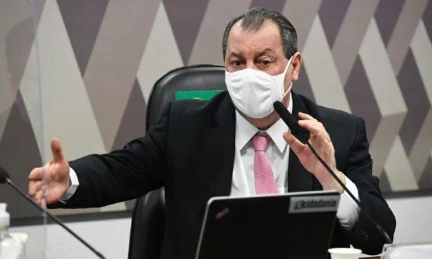 Bolsonaro brincou com a sorte no Maranhão, diz presidente da CPI
