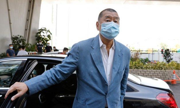 Justiça de Hong Kong condena magnata da imprensa Jimmy Lai a uma nova pena