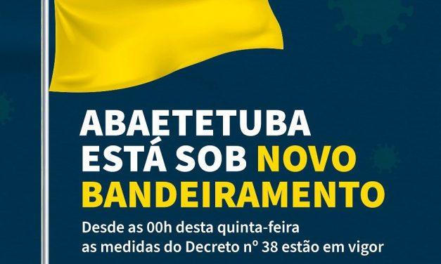 Abaetetuba está em Bandeiramento Amarelo