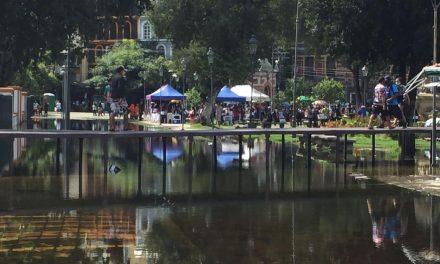 A dois centímetros de cheia recorde, Rio Negro fica estável e nível da água não sobe em Manaus