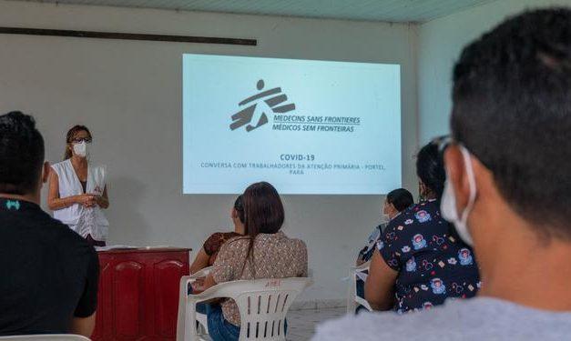 Médicos Sem Fronteiras dão apoio a instituições de saúde de Portel no combate à covid-19