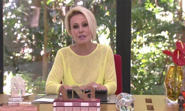 """Ana Maria se posiciona contra Bolsonaro: """"Adivinha quem recusou 14 ofertas de vacina?"""""""