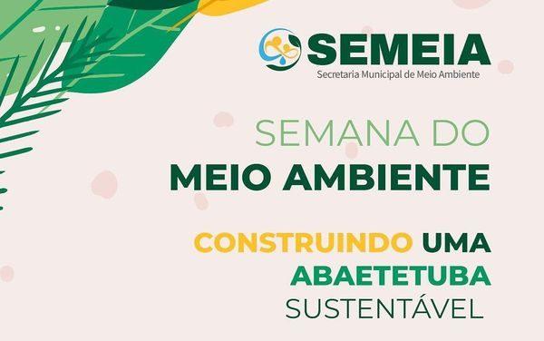 Prefeitura promove Semana do Meio Ambiente