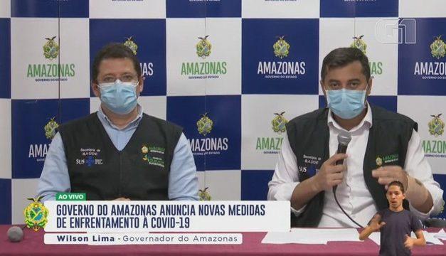 PF faz buscas contra governador do Amazonas em investigação sobre desvio de verbas de combate à Covid