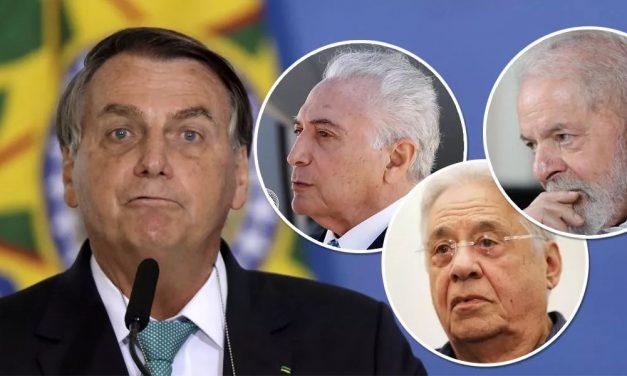 Temer vê risco de golpe de Bolsonaro; Lula e FHC querem reforçar legalistas