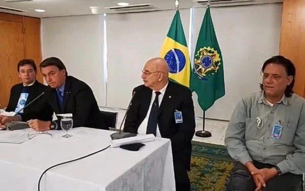 Site revela vídeo com reunião de 'gabinete paralelo' orientando Bolsonaro