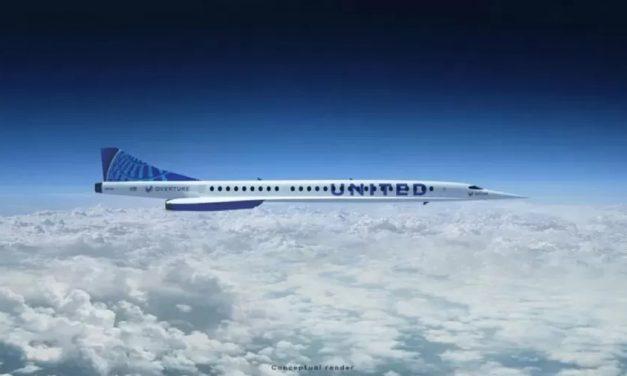 United Airlines anuncia 15 aviões comerciais supersônicos para 2029