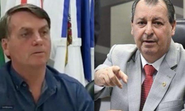 Aziz rebate Bolsonaro: 'Seu papel não é ficar brincando no cercadinho'