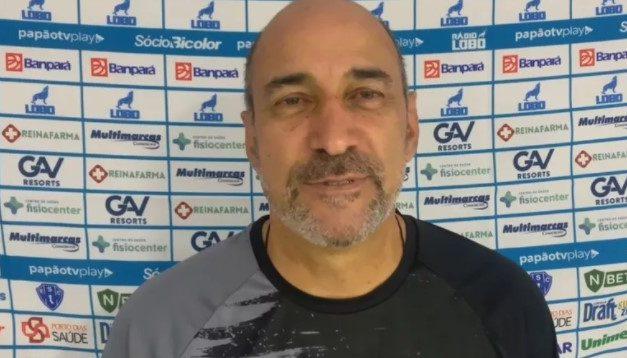 """Eutrópio diz que Papão foi penalizado por enfrentar time defensivo: """"vieram por uma bola"""""""