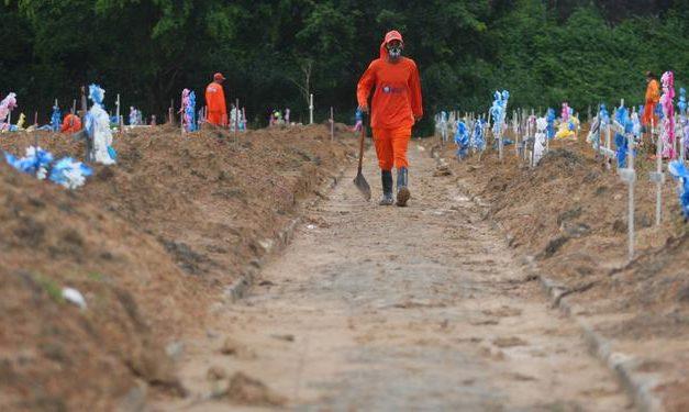 Covid-19 já fez 14.814 pessoas perderem a vida no Pará