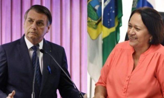 """Governadora do RN diz que Bolsonaro tem """"desvio mental e de caráter"""""""