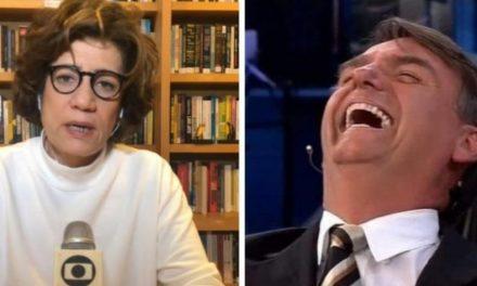 """Miriam Leitão detona Bolsonaro: """"Difícil conviver com tanta mentira"""""""