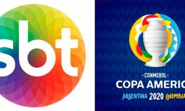 SBT se posiciona sobre Copa América e cutuca Globo