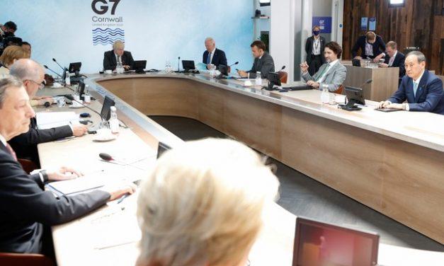 G7 adota plano para distribuir 1 bilhão de doses de vacinas contra Covid