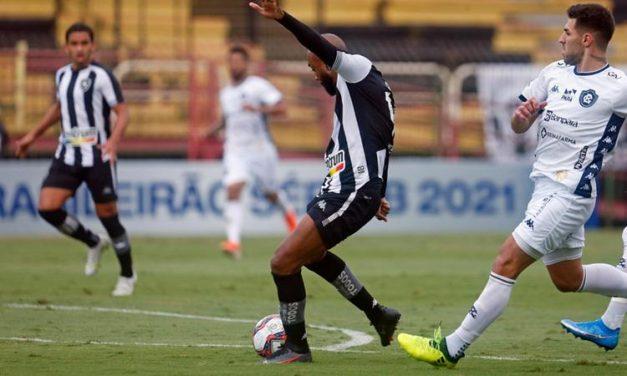 Fora de casa, Remo não joga bem e é goleado pelo Botafogo na Série B