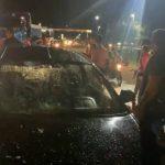 Mãe e filho ficam gravemente feridos em acidente de trânsito em Tailândia
