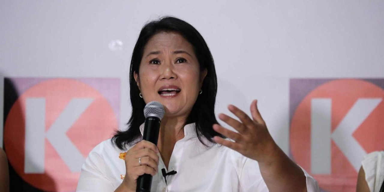 Keiko Fujimori pede auditoria de apuração dos votos das eleições peruanas