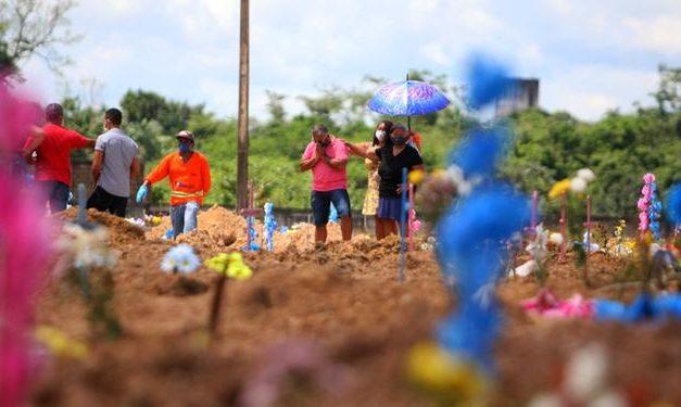 Passa de 15 mil o número de mortos pela covid-19 no Pará