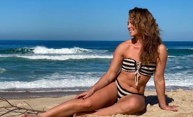 """Paolla Oliveira posa para fotos em dia de praia: """"Lavar a alma"""""""