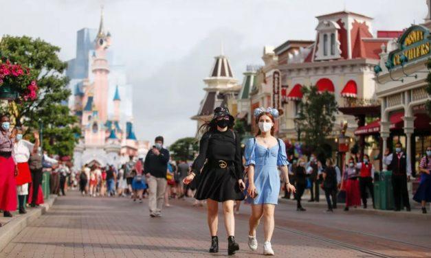 Disney de Paris reabre após 8 meses fechada por conta da pandemia