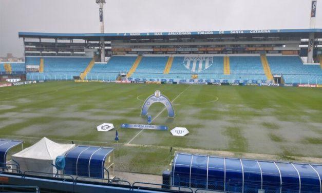 Chuva adia Clube do Remo X Avaí; CFB deve definir nova data