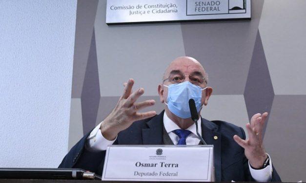 CPI da Covid: veja frases do deputado federal Osmar Terra no Senado