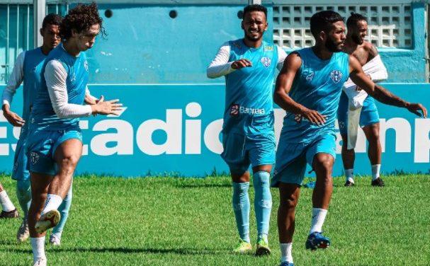 Paysandu tem três jogadores no Departamento de Saúde, mas deve ter retorno de dupla