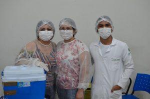 Marituba imunizou pessoas de 45 a 52 anos, neste sábado (26)
