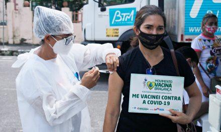 Vacinação contra a Covid-19 avança em Bragança