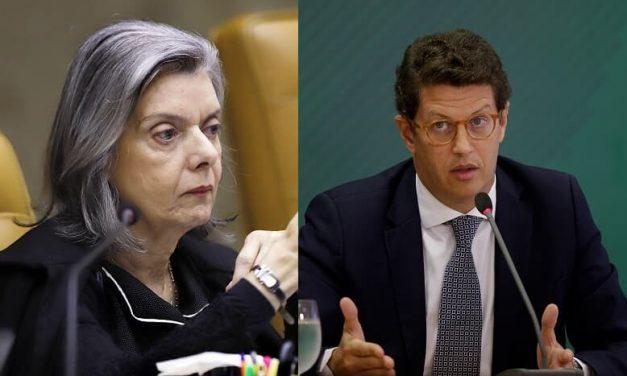 Cármen Lúcia envia ao TRF-1 inquérito que investiga o ex-ministro Ricardo Salles