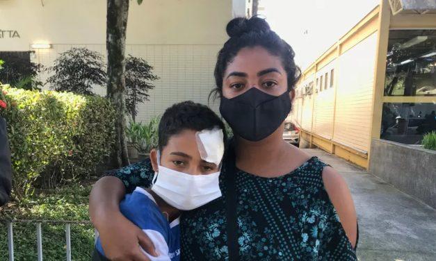 Menino de 12 anos é ferido na cabeça em reintegração de posse no RJ
