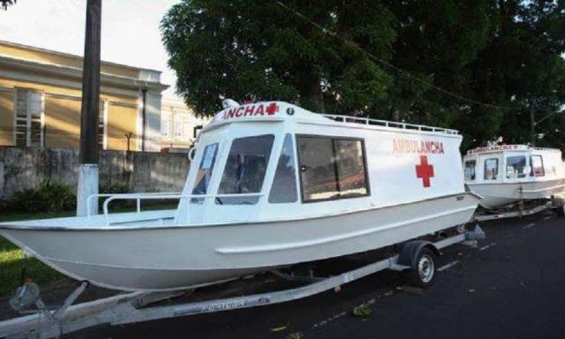 Ambulancha roubada de Cametá é recuperada em Limoeiro do Ajuru